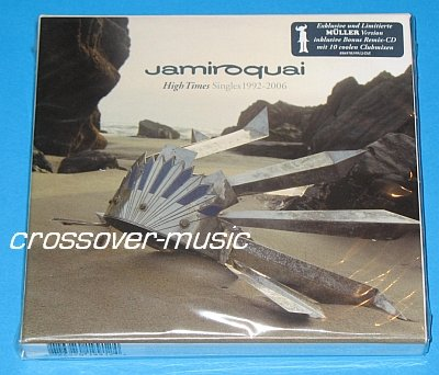 JAMIROQUAI High Times LIMITED GERMAN 2-CD SET w/REMIXES