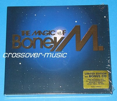BONEY M. The Magic Of LTD 2-CD w/ MEGA-MIX 2006 sealed