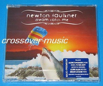 NEWTON FAULKNER Dream Catch Me GER 5-TRK CD 2008 sealed