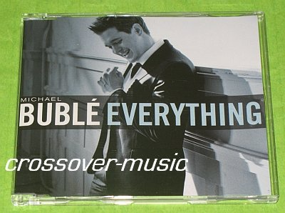 MICHAEL BUBLE Everything GERMAN 3-TR CD SINGLE 2007 NEW