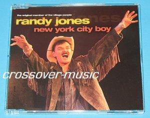 RANDY JONES PET SHOP BOYS NYC Boy 6mx CD VILLAGE PEOPLE