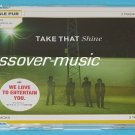 TAKE THAT Shine GERMAN 2-TRK CD w/ We Love To Entertain You