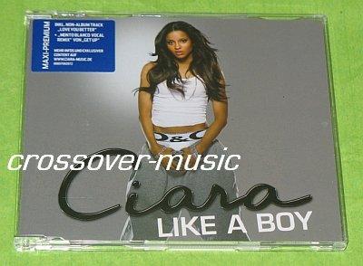 CIARA Like A Boy / Get Up REMIX GERMAN 4-TRACK CD 2007