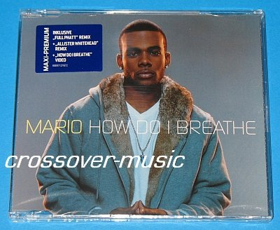 MARIO How Do I Breathe GERMAN 4-TRK CD Let Me Love You