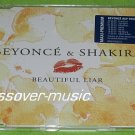 BEYONCE & SHAKIRA Beautiful Liar GERMAN 5-TRACK CD NEW