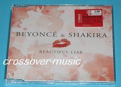 BEYONCE & SHAKIRA Beautiful Liar GERMAN 2-TRK CD sealed