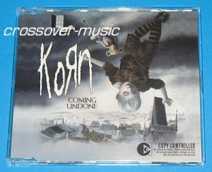 KORN Coming Undone GERMAN 3-TRACK CD SINGLE 2006 NEW