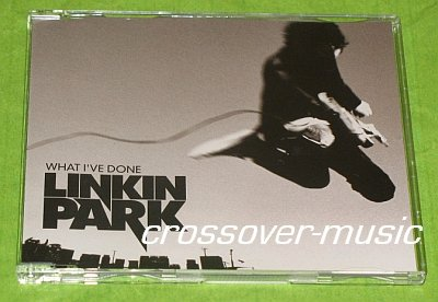 LINKIN PARK What I've Done GERMAN 3-TRCK CD SINGLE 2007