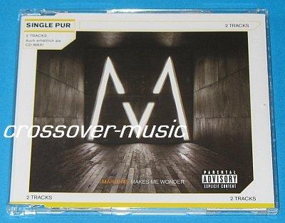 MAROON 5 Makes Me Wonder GERMAN 2-TR CD SINGLE 2007 NEW