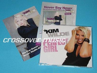 KIM WILDE Perfect Girl 2006 GER 4-TRACK CD + PR CARD