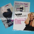 KIM WILDE Perfect Girl 2006 GER 4-TRACK CD + PR CARD