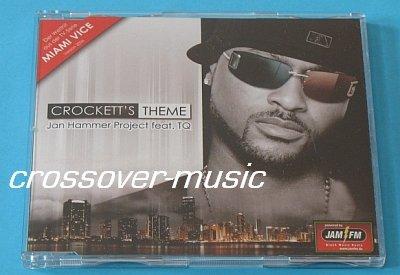 JAN HAMMER + TQ Crockett's Theme GER 4mx CD MIAMI VICE