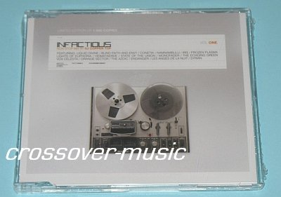 INFACTIOUS Vol One GER 17-TRK CD ELECTRONIC INDUSTRIAL