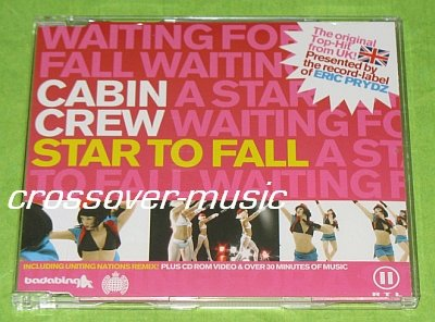 CABIN CREW Star To Fall 6mx CD 2005 NEW BOY MEETS GIRL