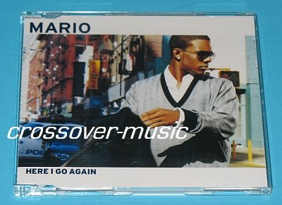 MARIO Here I Go Again GER 5-TRK REMIX CD w/ VIDEO 2005