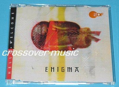 ENIGMA Hello + Welcome 2005 GER 4-TRK REMIX CD CRETU