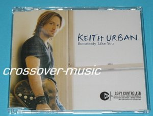 KEITH URBAN Somebody Like You GER 4-TRK CD JOHN SHANKS