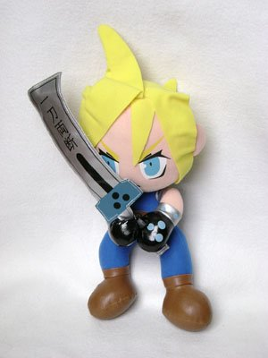 Final Fantasy VII Cloud Plush