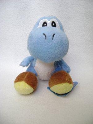 Super Mario Blue Yoshi Plush