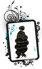 23 - 26 Inches Machine Weft Indian Hair- Curly