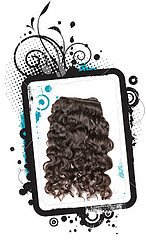 15 to 18 Inches Machine Weft Indian Hair- Curly