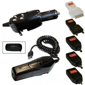 Triple Charger Home/Auto Cell/iPod/iPhone/Device Charger