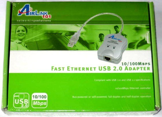 Wii USB LAN Adapter for Nintendo Wii NEW  Airlink ASOHOUSB