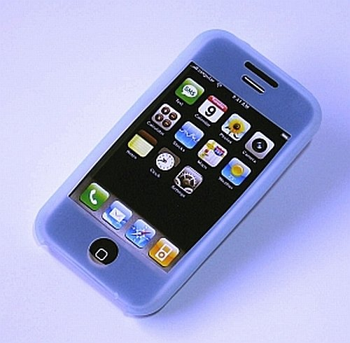 iPhone ipod Touch Silicone Protective Skin Case iTouch (Blue)
