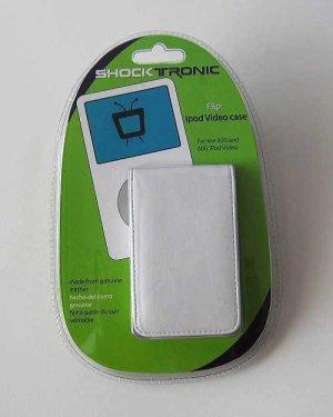 Flip ipod Video Case for the 30G and 60G ipod video White