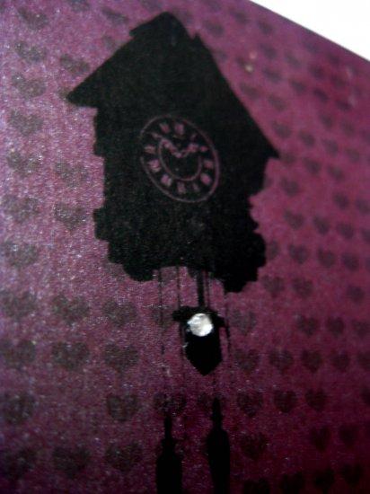 Handmade Card - Purple Cuckoo - Happy Birthday