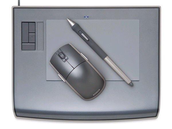 WACOM Intuos3 4X6 Wideformat Tablet - PTZ431W