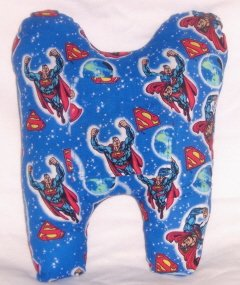"""Superman"" Tooth Pillow"