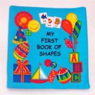 """My First Book of Shapes""  Fabric Book"