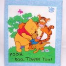 """Pooh, Roo, Tigger Too""  Fabric Book"