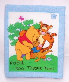 """Pooh, Roo, Tigger Too""  Fabric Book"