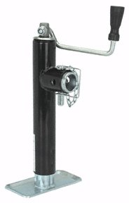 2000 Lb. Capacity Swing-Back Trailer Jack with Ring Mount Swivel