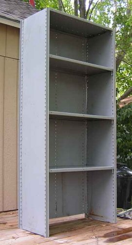 "Industrial Commercial Steel Shelving 18"" Deep (4 lot)"