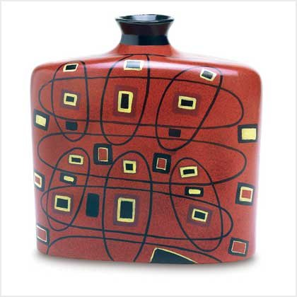 Abstract Art Vase