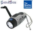 Weather Channel EZ Crank Emergency Radio Flashlight