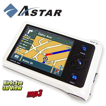 Astar Portable Personal Navigation System