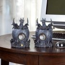 Black Dragon Computer Speakers