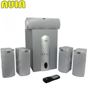 Avia 5.1 6-Piece Home Theater Sound System