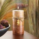 Rustic Classic Pillar Candle