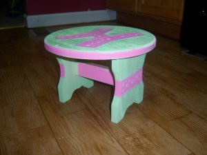 Stool for Girl!