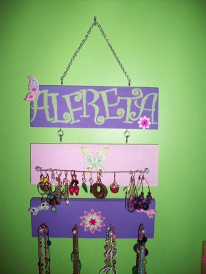 Necklace and Earring Holder