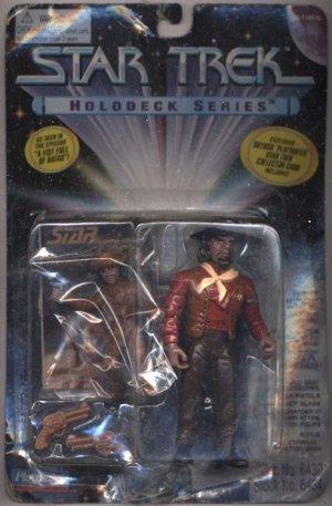 Star Trek TNG Next Generation Sheriff Worf Playmates Action Figure New Mint