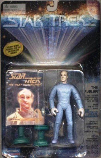 Star Trek TNG Next Generation Traveller Playmates Action Figure New Complete