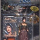 Star Trek TNG Next Generation Lwaxana Troi Playmates Action Figure New Complete