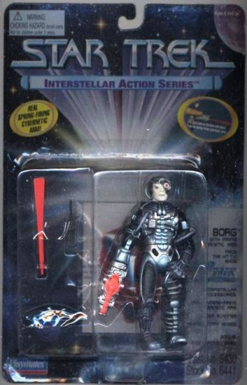 Star Trek TNG Next Generation Borg Interstellar Playmates Action Figure Mint New