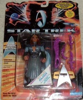 Star Trek TNG Next Generation Movie B'etor Playmates Action Figure New Complete